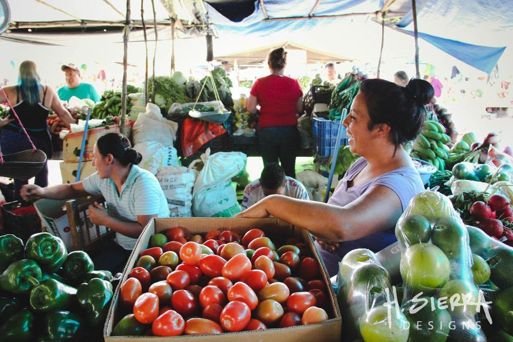 A day at the Mayoreo, one of the local farmer's markets where hard working families have made their incomes for decades.
