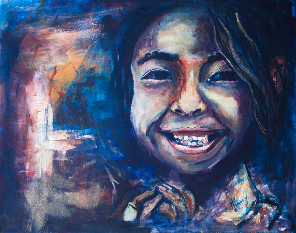 Acrylic on Canvas, 2013.