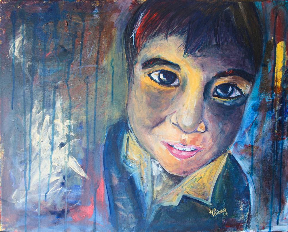 Acrylic on Canvas, 2014.