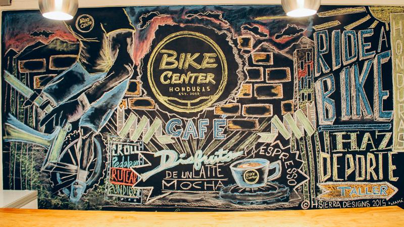First Chalk Art Mural