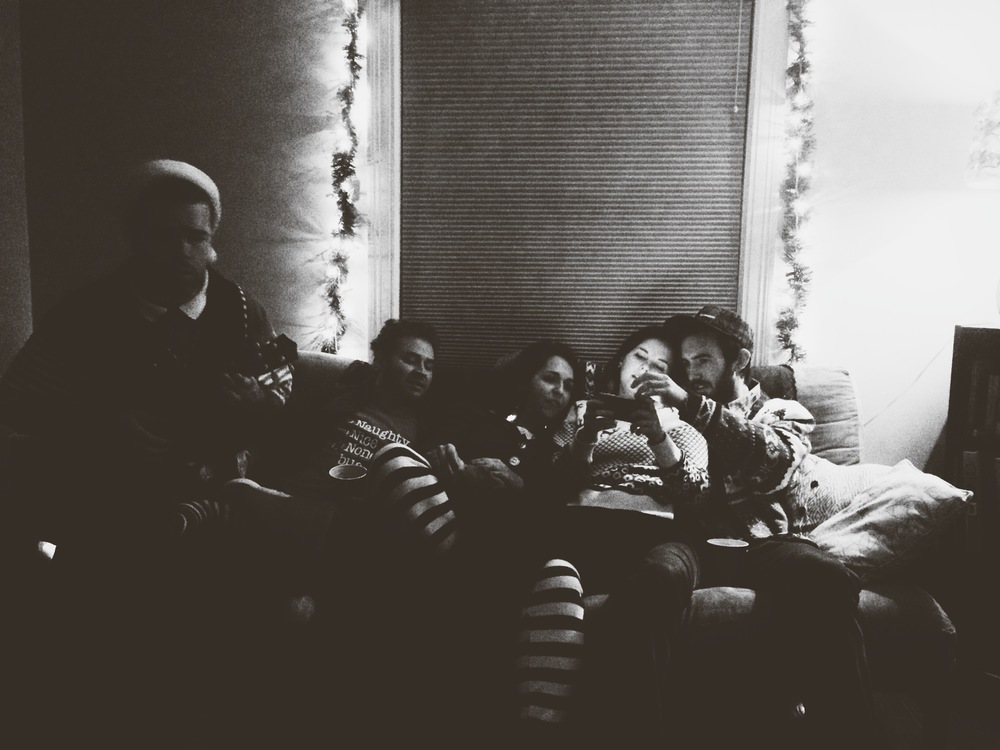 Christmas with my loud friends