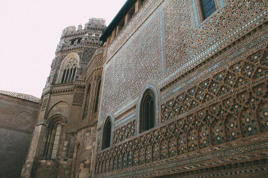 Church in Zaragoza, muslim influence in decor.