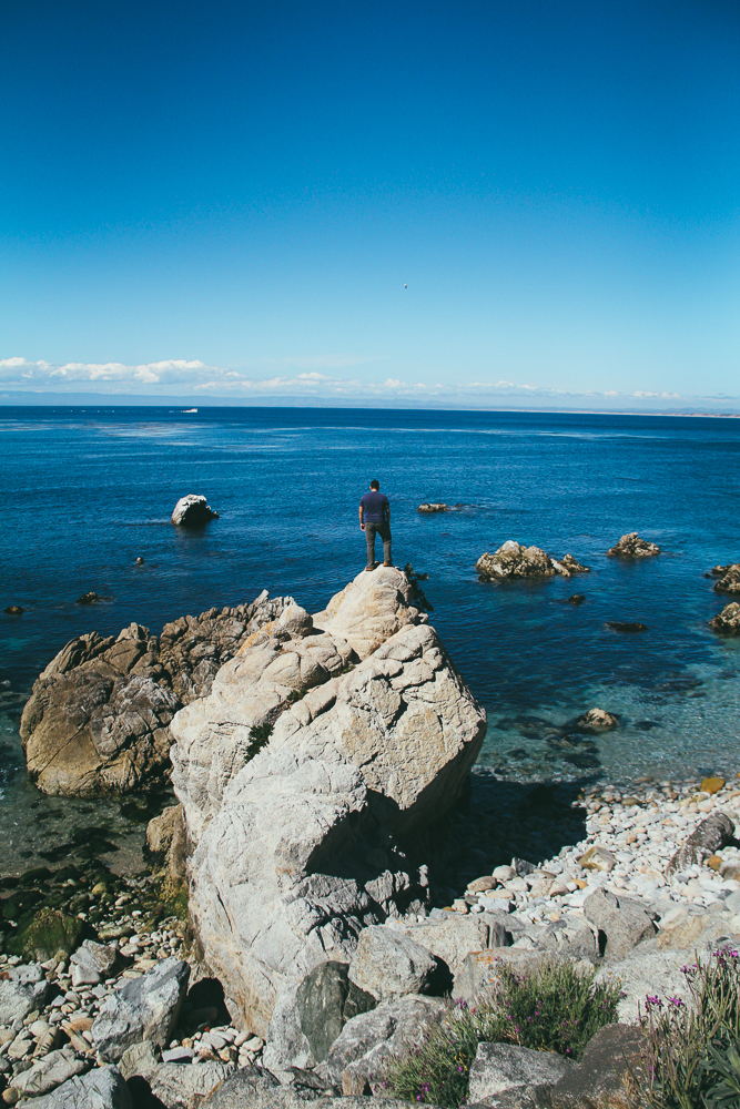 Day dreaming in a rock (Monterey, California)