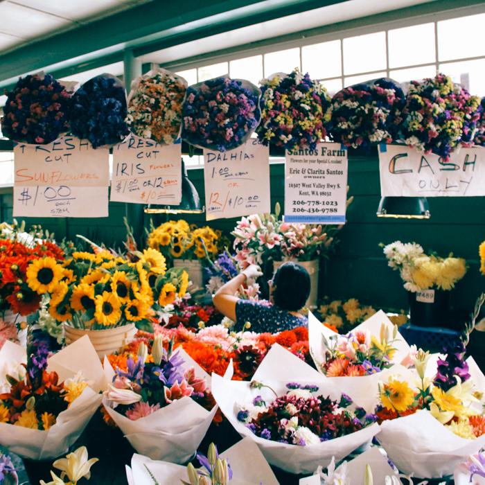 Flowers at the Market (Seattle, Washington)