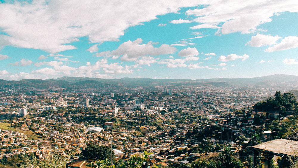 Every day views of my city (Tegucigalpa, Honduras)