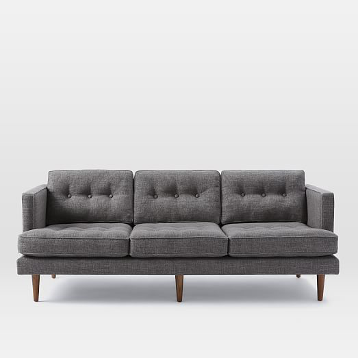 Peggy sofa • shale pebble