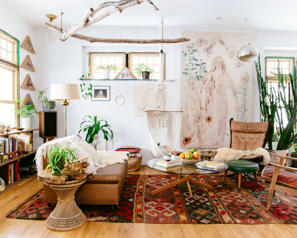 The New Bohemians Cool Amp Collected Homes Is Out Old