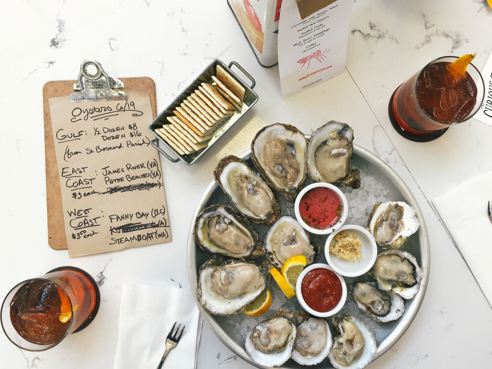The Curious Oyster at St. Roch Market