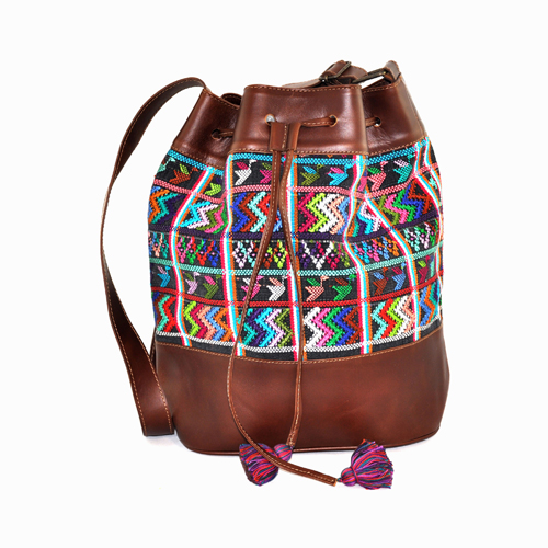 Huipil Bucket Bag