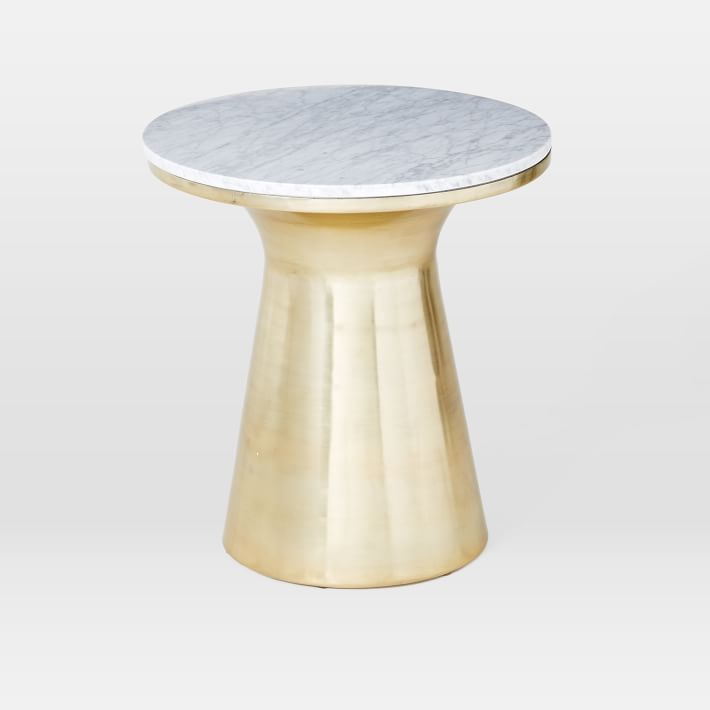 Marble Pedestal Table