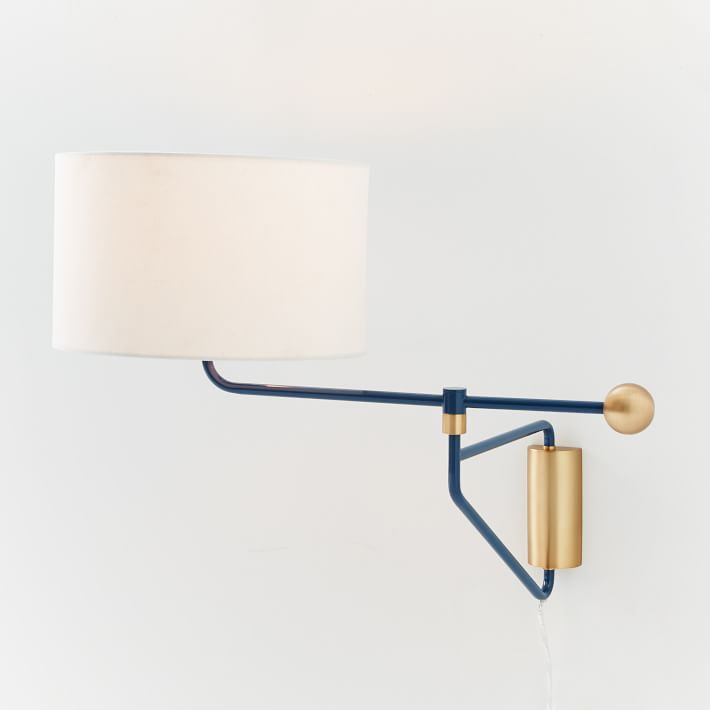 Mid-Century Swivel Sconce