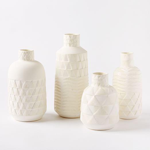 Pressed Pattern Vase