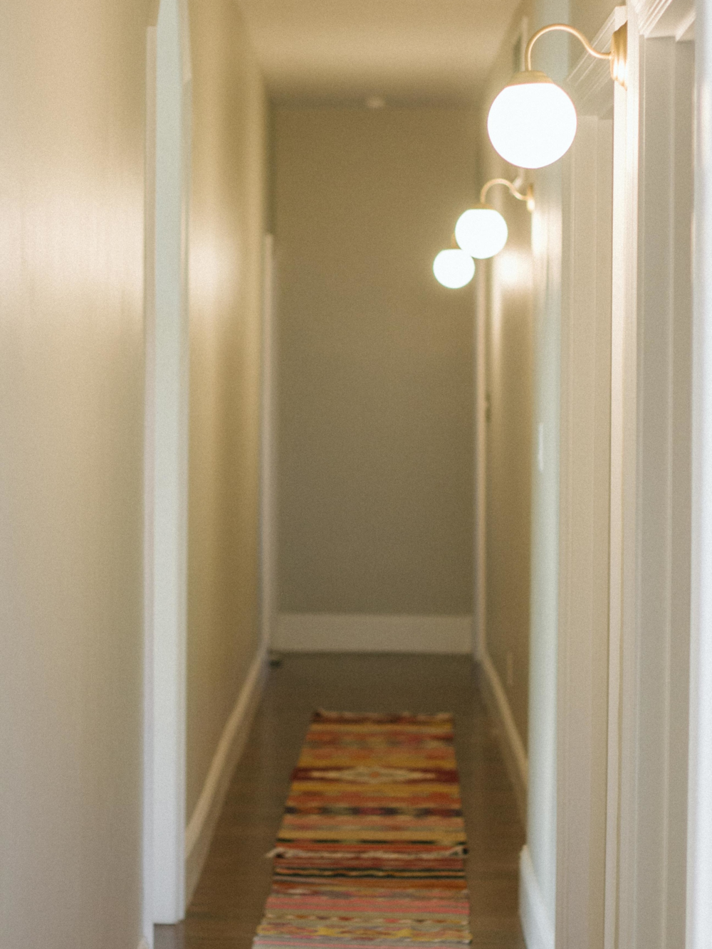 hallway sconce lighting. BEFORE + AFTER \u2022 HALLWAY LIGHTING IKEA LILLHOLMEN SCONCE Hallway Sconce Lighting D