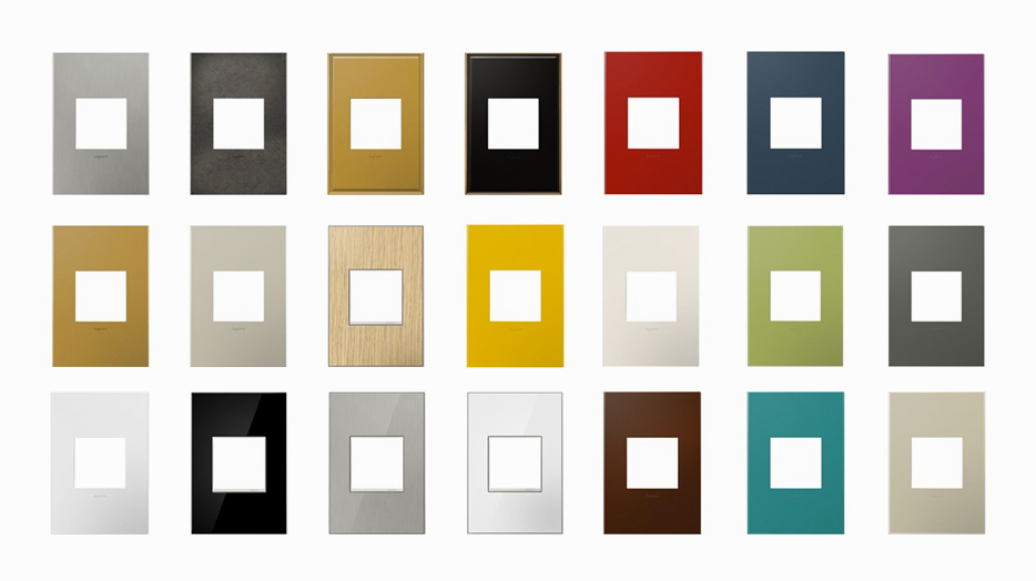 Adorne Wall Plates by Legrand