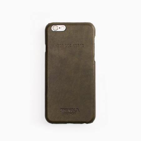 Leather wrapped iPhone 6 Case