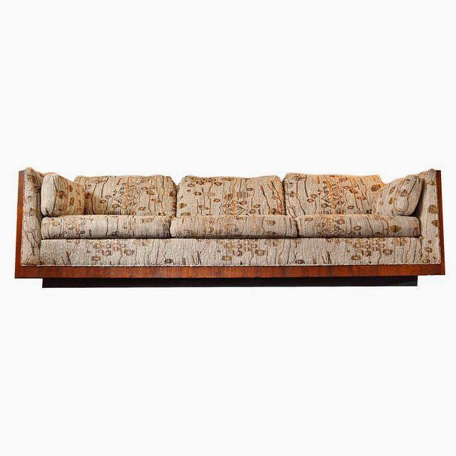 Milo Baughman Rosewood Sofa