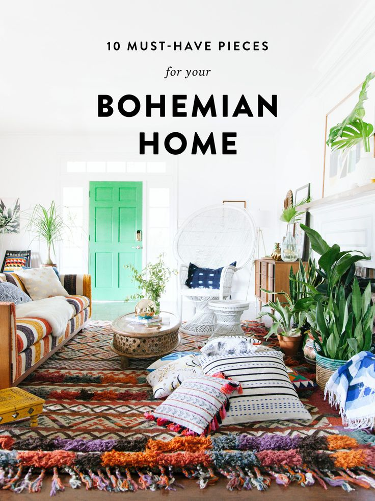 10 Must-Have Pieces for Your Bohemian Home