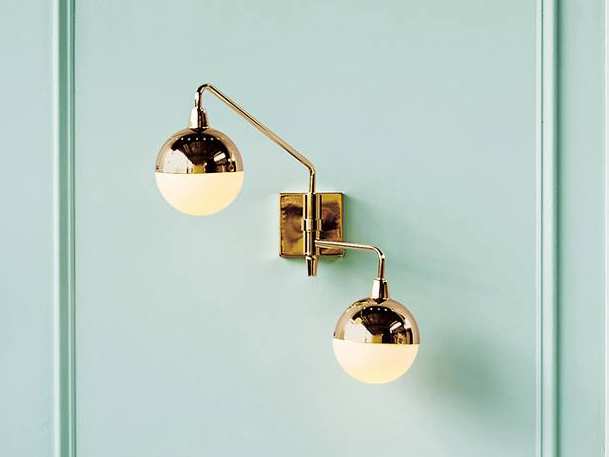 Anchored Orb Sconce