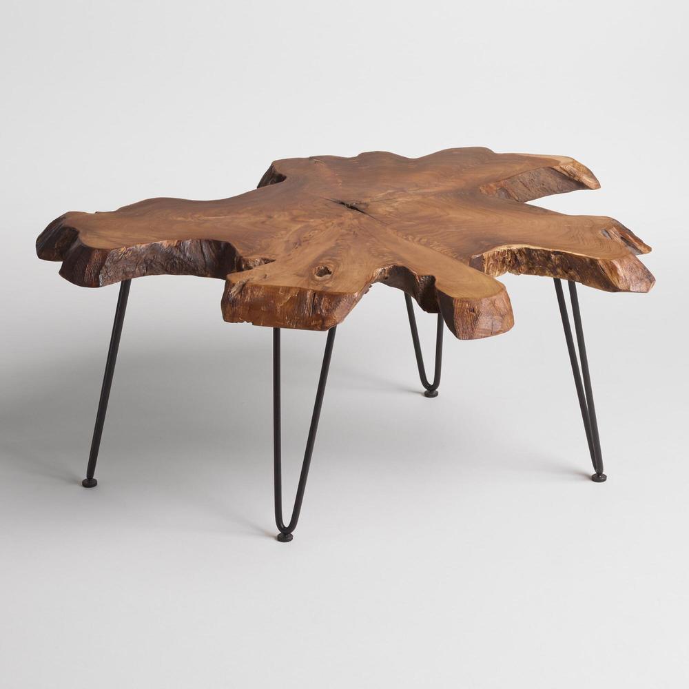 Wood Coffee Table $180