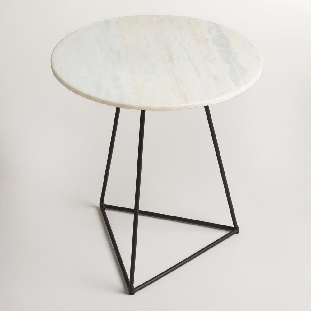 Marble Accent Table $100