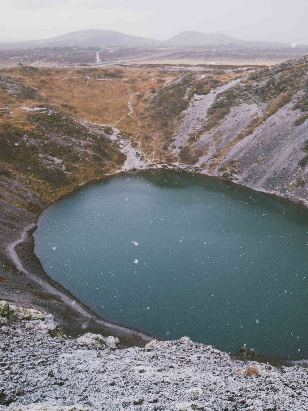 Kerig Crater Lake