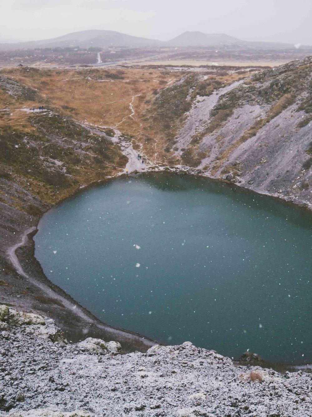 Kerig Crater Lake
