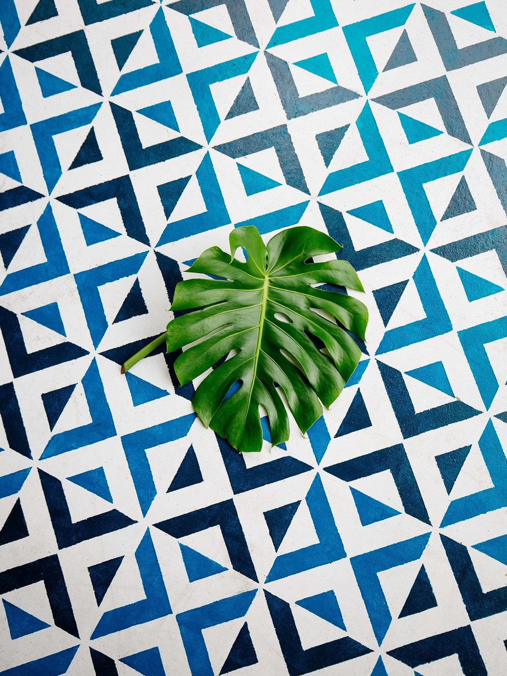 Old Brand New U2022 Patio DIY U2022 Painted Floor Tiles