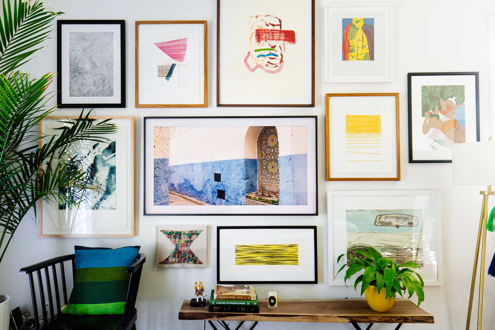 Creating a Gallery Wall with The Frame TV — OLD BRAND NEW