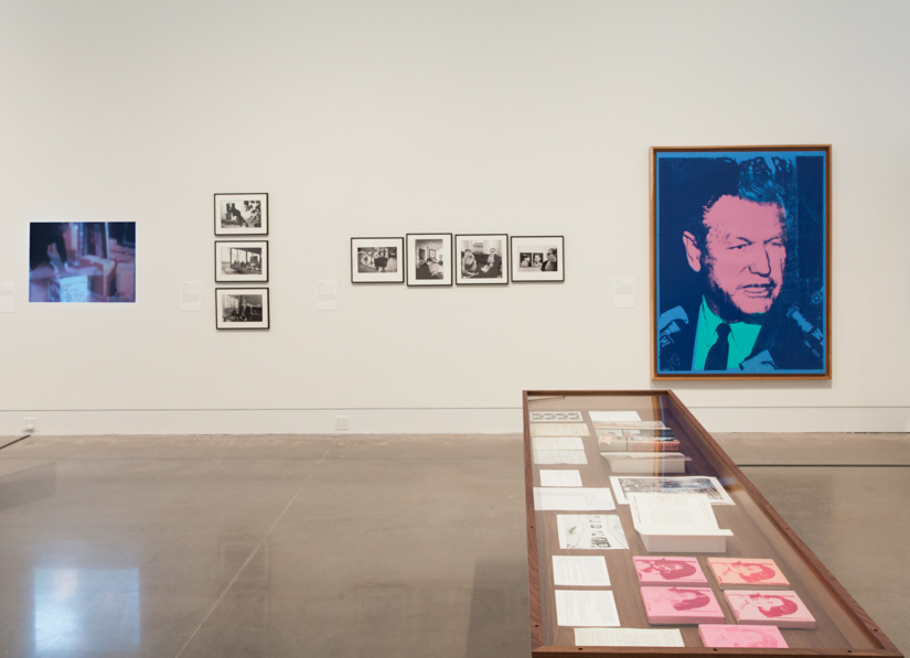 13 Most Wanted Men: Andy Warhol and the 1964 World's Fair, Installation view, 2014, Queens Museum. Photo: Peter Dressel