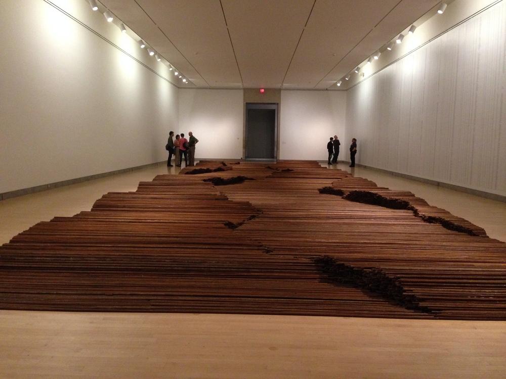 """""""Straight"""" Steel Rebar Ai Wei Wei"""