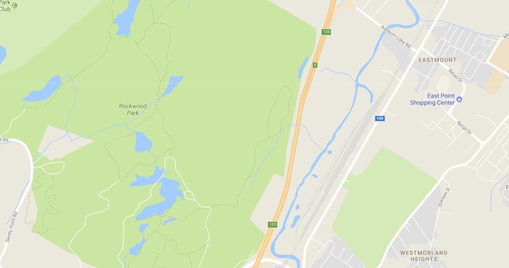 Current Rockwood Park Boundary