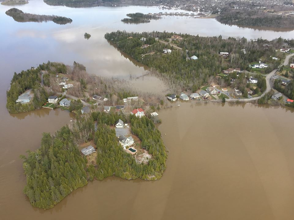 Spring 2018 flood at Ragged Point
