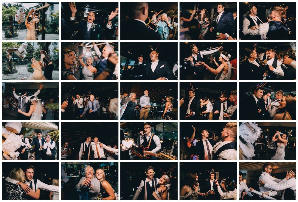 These are all images from a recent wedding at Le petit Chateau.