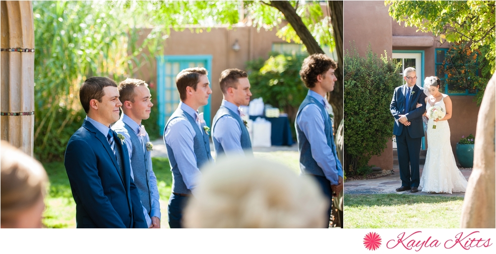 casa de suenos-albuquerque-outdoor-wedding-new mexico-bridal gown-demetrios-kayla kitts photography-albuquerque wedding photographer