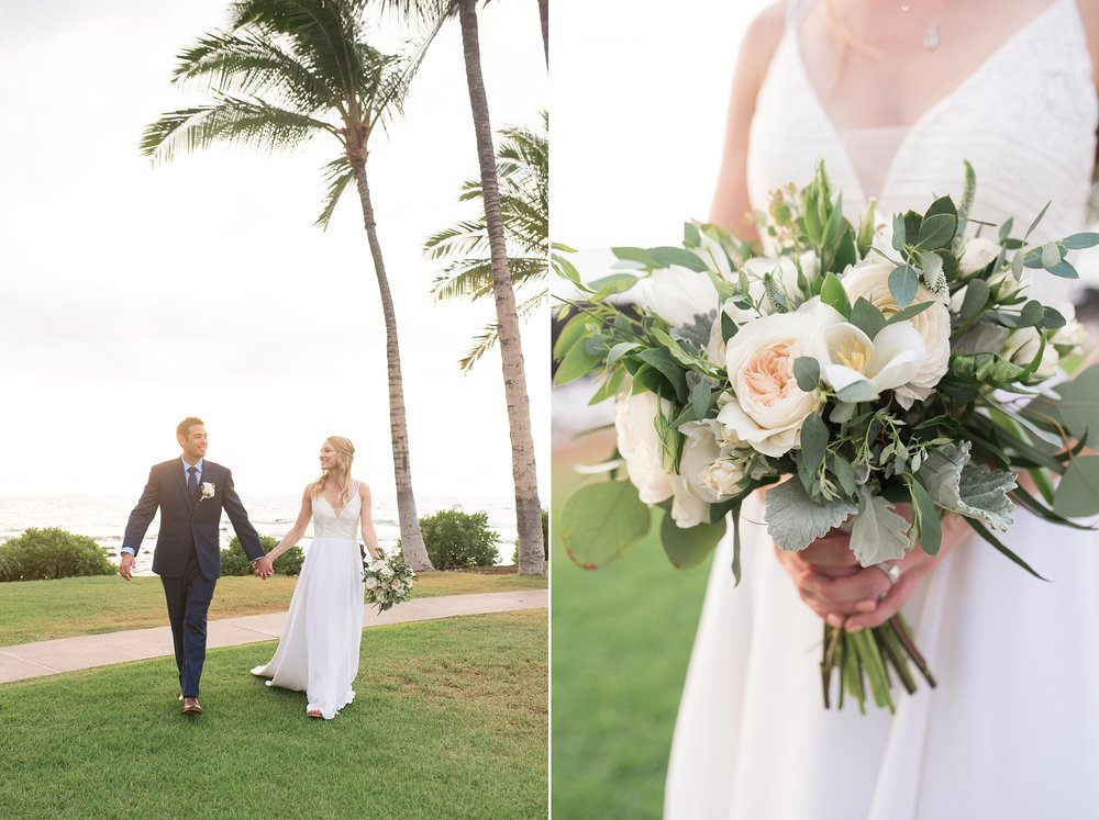 fairmont orchid kona hawaii wedding destination photographer beach resort wedding grace flower suits unlimited dj tiger martha stewart weddings