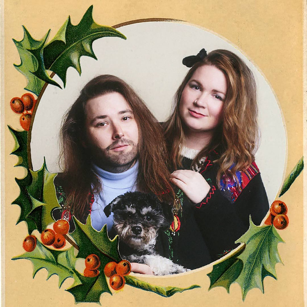 Happy Holidays from my little family to yours! (Dan, Paige & Gus)