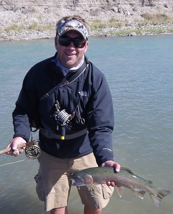 Jeff Mironuck with Home Waters Guide Service