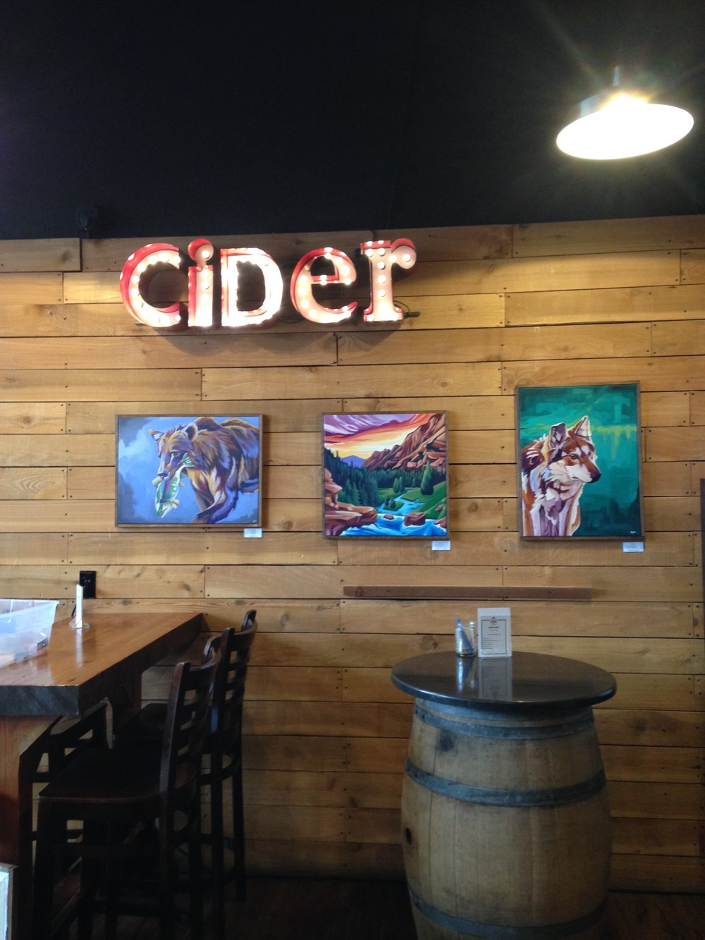 PDX Cider House works, Portland, OR 2018