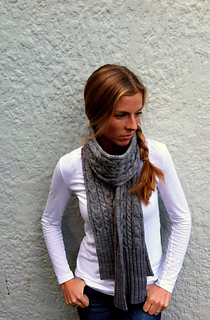 Make It: Amy Miller's Parkway Scarf (I'd make this in Bulky to go big big big)
