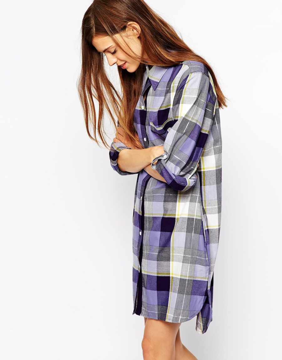 Buy it: DKNY Oversize Shirt. Perfect with leggings, boots and some mitts.