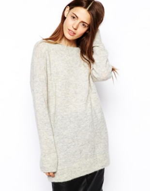 Buy it: Oversized sweater via ASOS