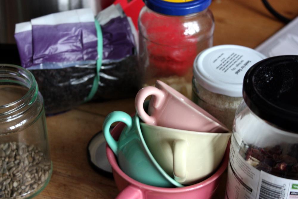 baking clutter