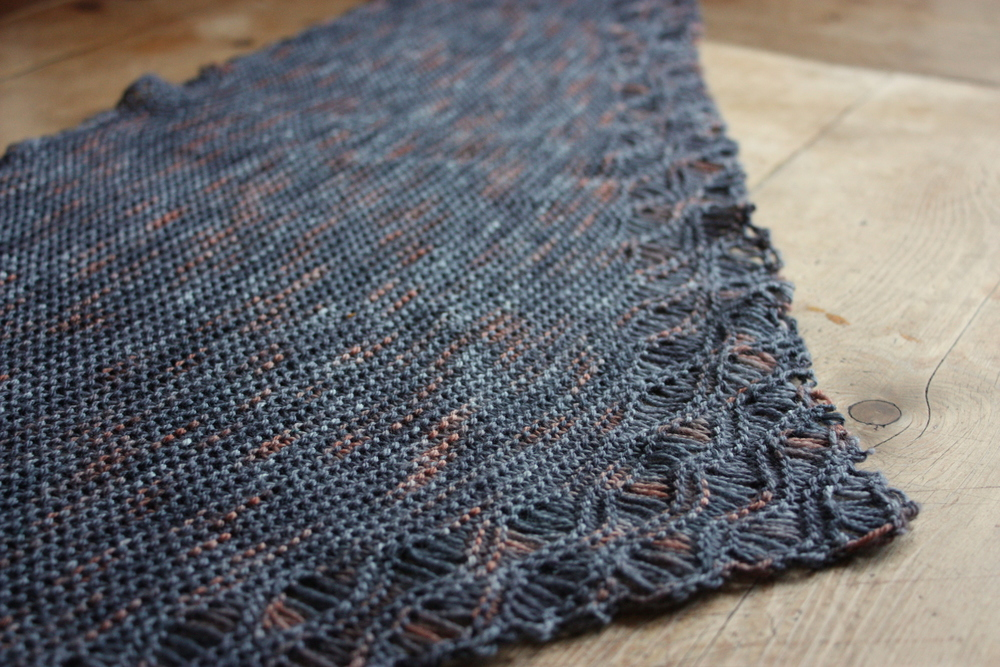 Brighton Beach Shawl