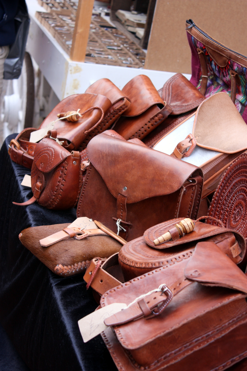 leather bags for sale on the Laines
