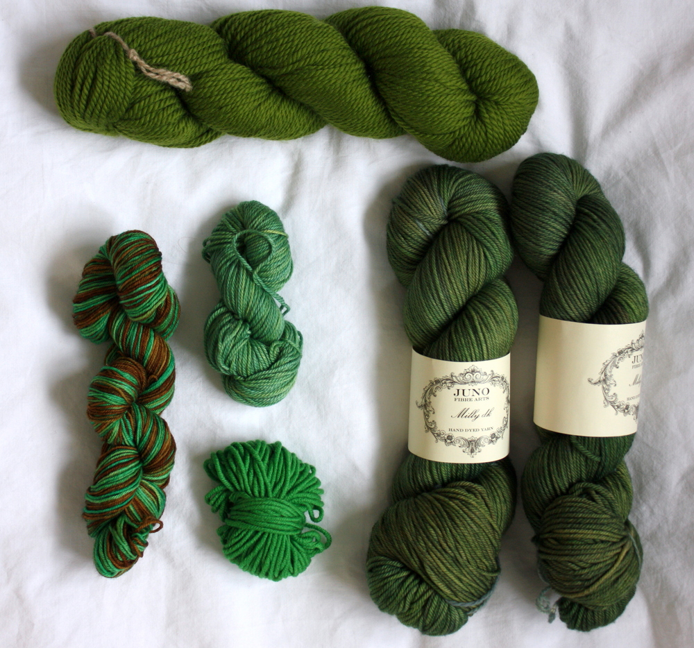 green yarn inspirations
