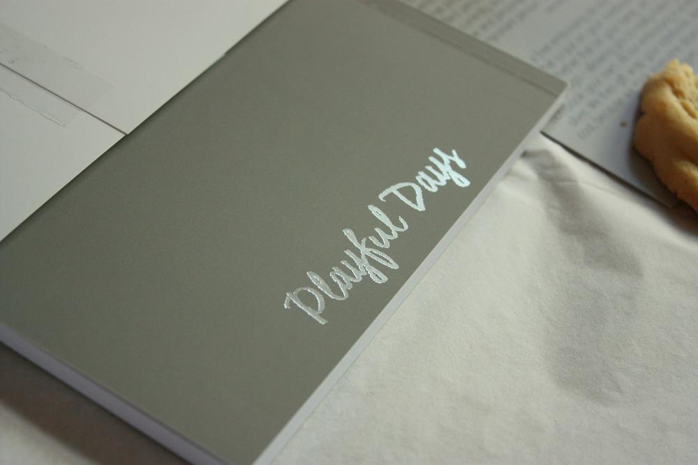 embossed journal via Chroma Stationery