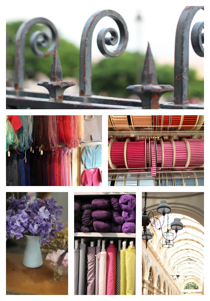 Inspirational Paris markets and haberdasheries