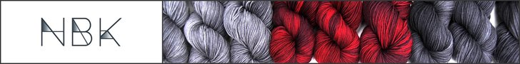 A Playful Day is proud to be sponsored by NorthBound Knitting, Sensuous Yarn: Modern designs. For the month of April, you can download any NBK shawl for half price. For more information please click on the banner above.