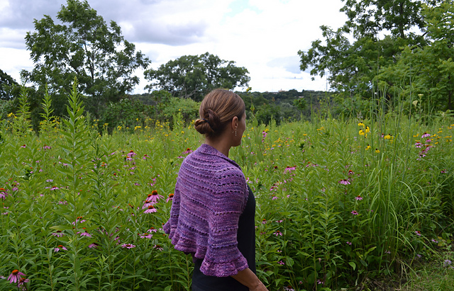 The Prairie Ridge Shawl by Susan B Anderson