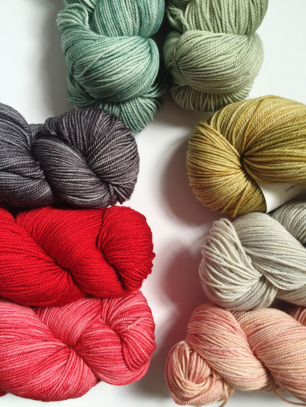 Anzula Squishy colours (from bottom left) Lipstick, Red Shoe, Charcoal, Herb, Country Green, Tan, Gravity and Mauve